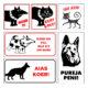 Koera hoiatussildid 3