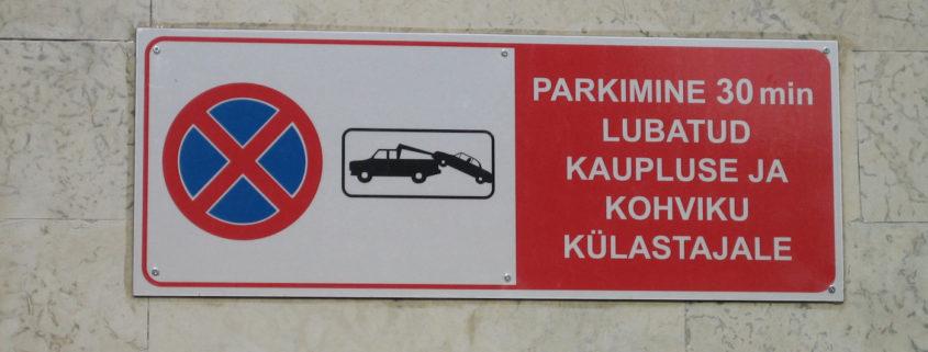 Parkimisinfo silt 1