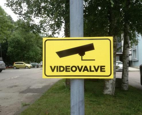 Videovalve silt