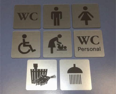 WC tähised